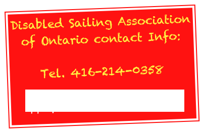 Disabled Sailing Association of Ontario contact Info: